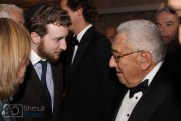 henry kissinger talking to the editor of the Algemeiner